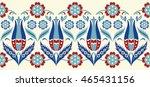 vector seamless border in... | Shutterstock .eps vector #465431156