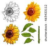 vector illustration of... | Shutterstock .eps vector #465433112