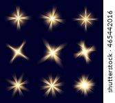 creative vector set of glow...