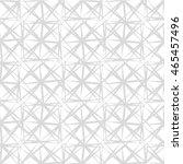 monochrome geometric seamless... | Shutterstock .eps vector #465457496