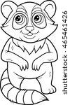 raccoon | Shutterstock .eps vector #465461426