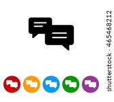 web icon. dialog