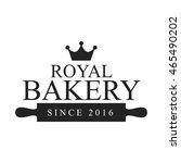 bakery badge vector illustration   Shutterstock .eps vector #465490202