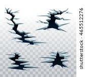vector crack in earth on...   Shutterstock .eps vector #465512276