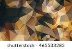 polygonal flower background   Shutterstock .eps vector #465533282