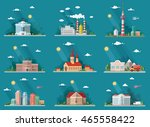 mega set of icons for your... | Shutterstock .eps vector #465558422