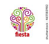 holiday vector logo | Shutterstock .eps vector #465583982
