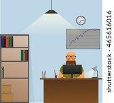 freelancer work | Shutterstock .eps vector #465616016