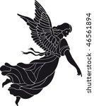 angel vector | Shutterstock .eps vector #46561894