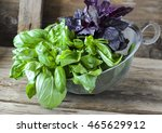 bunch of fresh red and green... | Shutterstock . vector #465629912