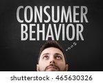 consumer behavior   Shutterstock . vector #465630326