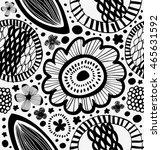 fantasy graphic pattern in... | Shutterstock .eps vector #465631592
