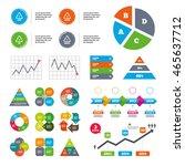 data pie chart and graphs. pet...   Shutterstock .eps vector #465637712