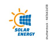 solar energy logo or icon | Shutterstock . vector #465661658