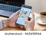 bangkok  thailand   august 8... | Shutterstock . vector #465698966