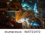 welder industrial automotive... | Shutterstock . vector #465721472