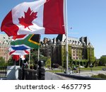 the empress and canadian flag | Shutterstock . vector #4657795