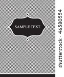 black and white background with ...   Shutterstock .eps vector #46580554