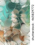 abstract wave color background... | Shutterstock . vector #465829772