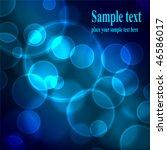 abstract background. vector... | Shutterstock .eps vector #46586017