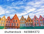 Colorful Old Brick House On Th...