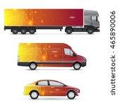 set of design templates for... | Shutterstock .eps vector #465890006