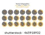 vector infographics. 0 5 10 15... | Shutterstock .eps vector #465918932