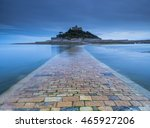 a stone causeway just below the ...