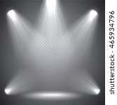 scene illumination bright light ... | Shutterstock .eps vector #465934796