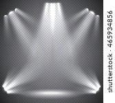 scene illumination  transparent ... | Shutterstock .eps vector #465934856
