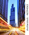 Willis Tower And Modern City At ...