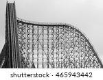 wooden coaster | Shutterstock . vector #465943442
