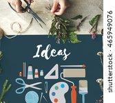 ideas creative design... | Shutterstock . vector #465949076