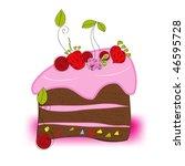 cake | Shutterstock .eps vector #46595728