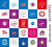holiday vector logo | Shutterstock .eps vector #465958952