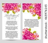 vintage delicate invitation... | Shutterstock . vector #465976145