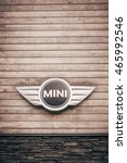 mini bull bar club  pec pod... | Shutterstock . vector #465992546