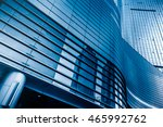 facade of modern building china. | Shutterstock . vector #465992762