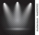 bright lighting with spotlights | Shutterstock .eps vector #466000502