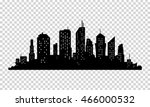 city icon. vector town... | Shutterstock .eps vector #466000532