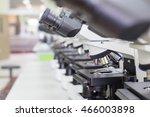 microscope in laboratory for...   Shutterstock . vector #466003898
