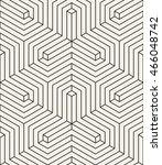 vector seamless pattern. modern ... | Shutterstock .eps vector #466048742