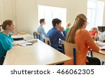 education  learning and people... | Shutterstock . vector #466062305