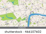 vector color map of central... | Shutterstock .eps vector #466107602