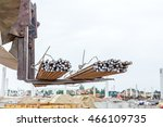 Excavator With Inserted...
