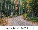 Colorful Fall Foliage Along The ...