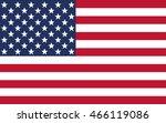 united states flag | Shutterstock .eps vector #466119086