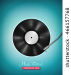 realistic long playing  lp ...   Shutterstock .eps vector #466157768