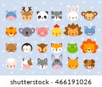 Big Vector Set With Animal...
