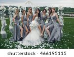 The Smiling Bridesmaids And...